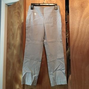 Alfani Pants - Alfani grey fitted slacks with no pockets