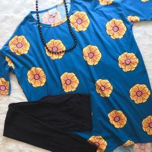 LuLaRoe Tops - Lularoe Irma Floral Print Top