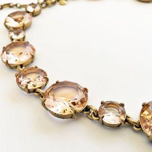 J. Crew Jewelry - J. Crew Round Cut Glass Necklace