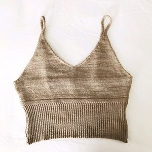 Urban Outfitters Tops - Knit crop top