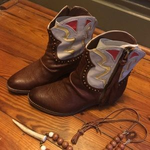 Sam Edelman cowboy boots