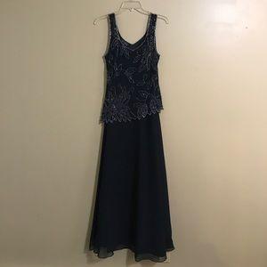 J Kara Dresses & Skirts - Blue gown