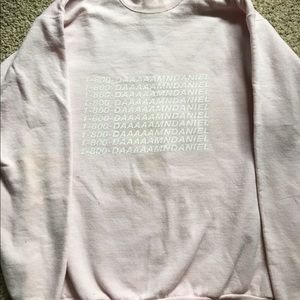 redbubble Sweaters - Light pink hoodie