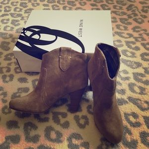 New Nine West sweetsent booties