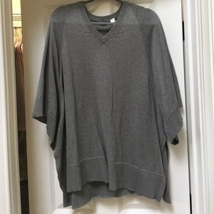 Acrobat Sweaters - Acrobat sleeved poncho sweater XS/S NWOT