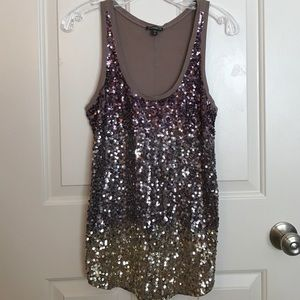 Sequin top!