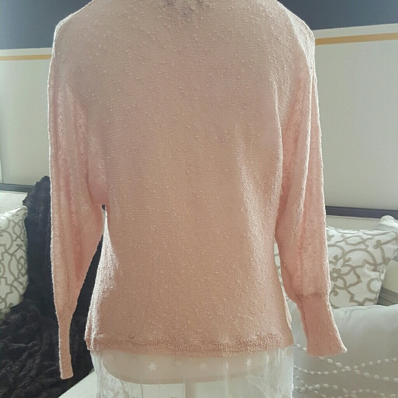 75% off Sweaters - BEAUTIFUL LIGHT PINK SPRING SWEATER !!!!!! from ...
