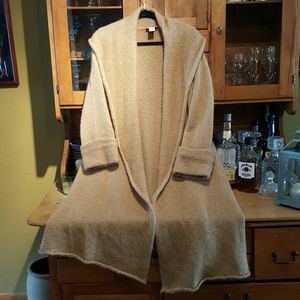 Soft Surroundings  Sweaters - Long wool and mohair cardigan