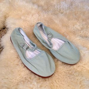 Urban Outfitters Shoes - Cotton Mary Janes in Mint