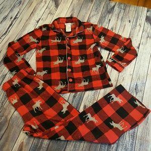 Komar Kids Other - Plaid 2 piece pajama set, boys size 10/12