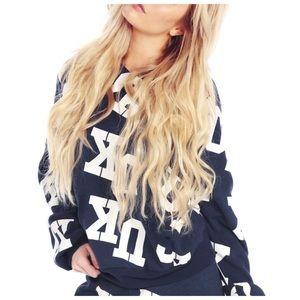 Wildfox® UK Malibu Pullover [oxford blue]