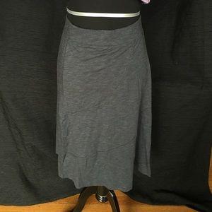 Horny Toad Dresses & Skirts - Horny Toad Midi Dark Gray Skirt