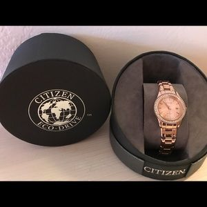 Citizen Accessories - Ladies' Citizen Eco-Drive® Crystal Accent Watch