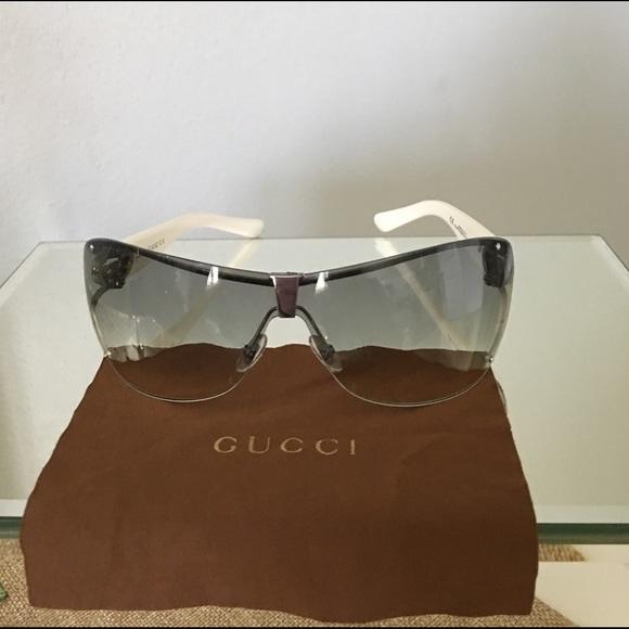 dbeff3a51ba Gucci Accessories - Gucci Women s 2807 S Wrap Sunglasses