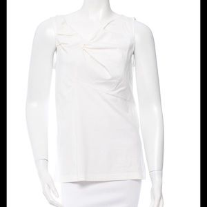 Brunello Cucinelli Tops - BRUNELLO CUCINELLI Off White Cotton Top Sz XL