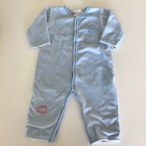 Kissy Kissy Other - EUC Kissy Kissy velour play suit in size 6-9 month