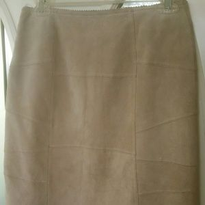 Limited Too Tan Suede skirt