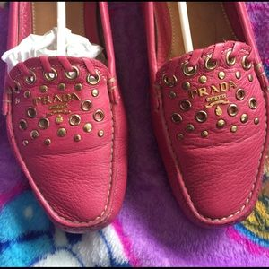 Prada Shoes - Vintage Authentic Prada Mocassins