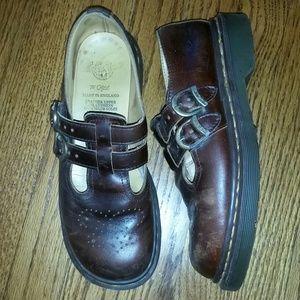 Dr. Martens Shoes - Doc Marten's Vintage Mary Jane Cognac