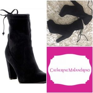 Catherine Malandrino Shoes - NWOB  booties with laces