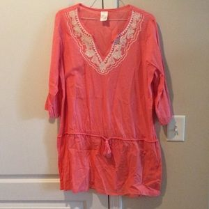 Lands' End beach tunic