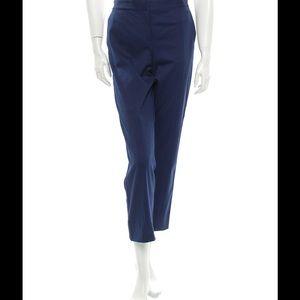 Reed Krakoff Pants - REED KRAKOFF Blue Cotton Capri Pants Sz 12 NEW!!
