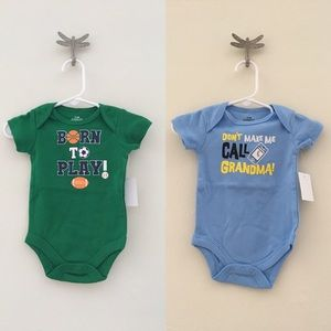Other - Baby Boy Shortsleeve Onesies 2-Pieces