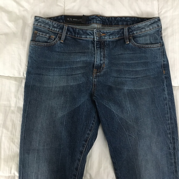 63% off A/X Armani Exchange Denim - Armani Exchange A/X Blue Jeans Sz 31 from Maddieu0026#39;s closet on ...