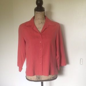 Anna and Frank Tops - Anna and Frank 100% silk blouse
