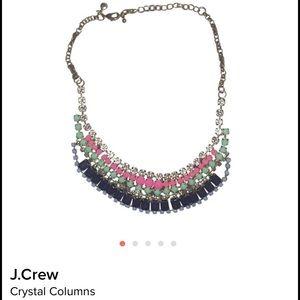J.Crew Crystal Columns Necklace