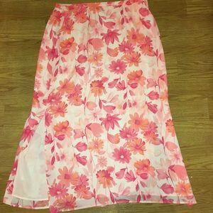 Worthington Dresses & Skirts - 30% Off Bundles Floral Maxi Skirt