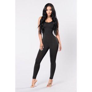 Fashion Nova Dresses & Skirts - Fashion Nova Black Jumpsuit