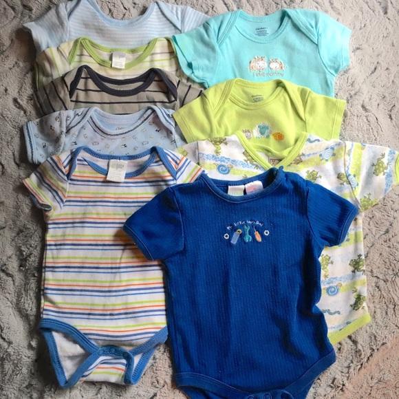 43fb0048d Carter's One Pieces | 9pc Lot 36 Months Baby Boy Onesies Bundle ...