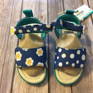 Chooze Other - Chooze Floral and Polkadot Sandals size 7