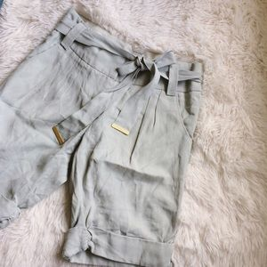 Anthropologie Pants - ANTHROPOLOGIE pale blue knee length shorts