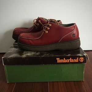 Timberland Other - Timberland Brattlestreet Red Men's Shoes