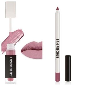 Other - NWT Real Her Lipliner and Matte Liquid Lipstick