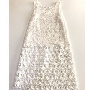 Dresses & Skirts - White crotchet dress