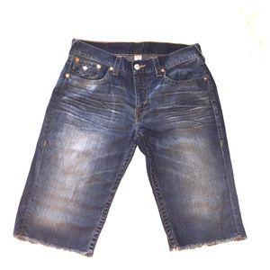 True Religion Other - Mens true religion shorts denim size 36