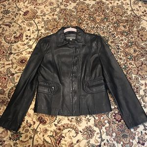 Kenneth Cole Reaction Jackets & Blazers - Kenneth Cole Genuine Leather Jacket Large