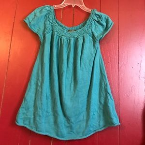 Eddie Bauer Tops - Teal blouse *final price*
