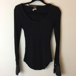 Free People Tops - WE THE FREE Snap Button Cuff Thermal