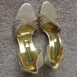 handmade Shoes - Sparkly heels very beautiful !