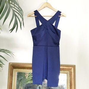 Stylestalker Dresses & Skirts - 🆕 Stylestalker Navy Halter Dress
