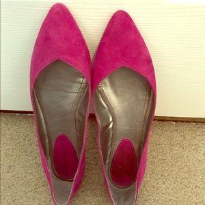 Audrey Brooke Shoes - Audrey Brooke suede flats