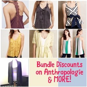 Bundle Discounts on Anthropologie and MORE!