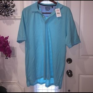 Izod Other - Blue/Turquoise Men's Polo XL: IZOD, Brand New