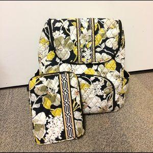 Vera Bradley Backpack & iPad Mini Case