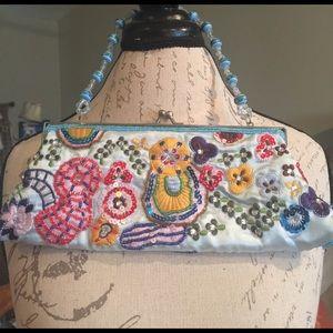 Handbags - Embroidered evening bag