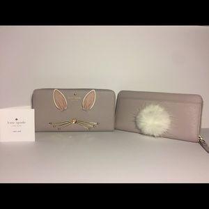 kate spade Handbags - ♠️Kate spade make magic happen fluffy bunny lacey